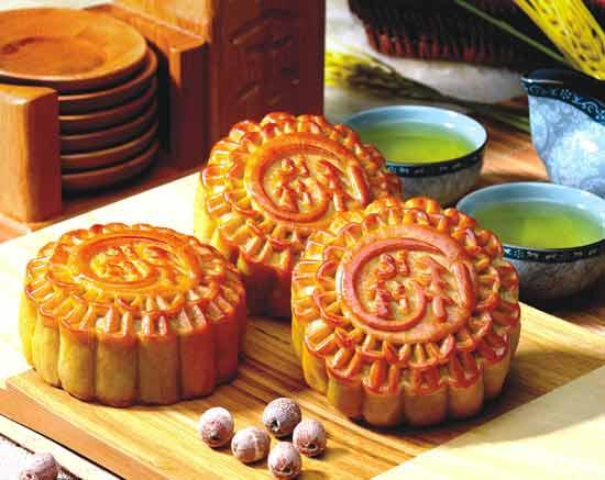 香香月饼 香香月饼 麻花 香香蛋糕店